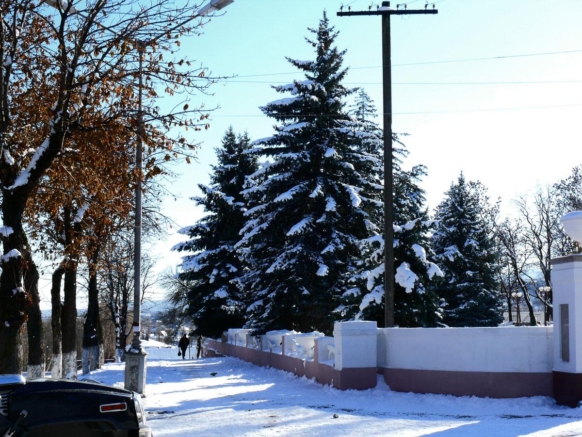 Улицы нальчика зимой картинки